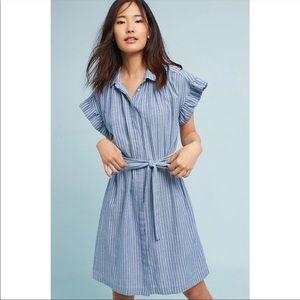 Isabella Sinclair Blue Stripe Dress Size Xl